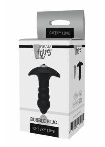 Buborékos, vibrációs szilikon plug, Bubble Plug