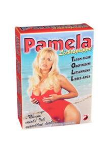 Pamela szexbaba, bögyös háromlukú gumibaba