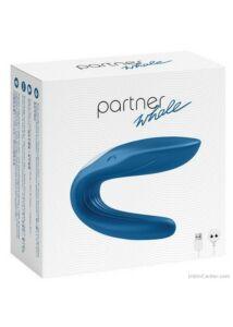 Párvibrátor szex és maszti célokra, szilikon Partner Whale vibri