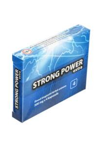 Strong Power Max potencianövelő kaszula 4 db