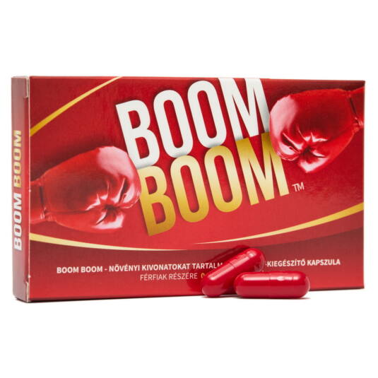 Boom Boom potencianövelő 2 db kapszula