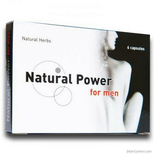 Natural Power potencianövelő kapszula 6 db