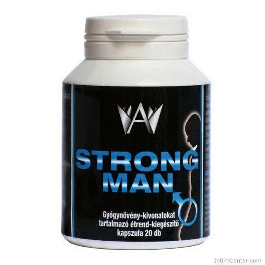 Strong Man férfi potencianövelő kapszula 20 db