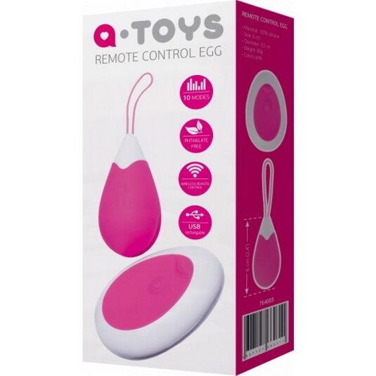 Tojás vibrátor, vezeték nélküli távirányítós tojás vibri A Toys